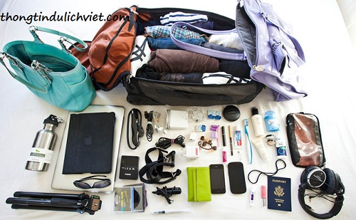 tua du lịch Hạ Long hành lý