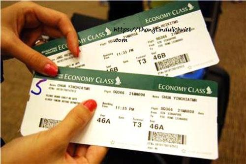 Chuẩn bị vé máy bay du lịch nhật bản