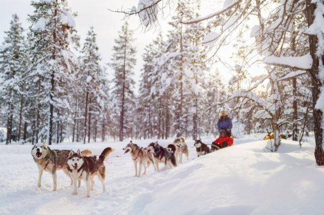 Trượt tuyết mùa đông tại châu Âu