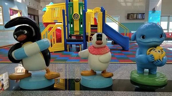 Khu vui chơi trẻ em ngay tại sân bay