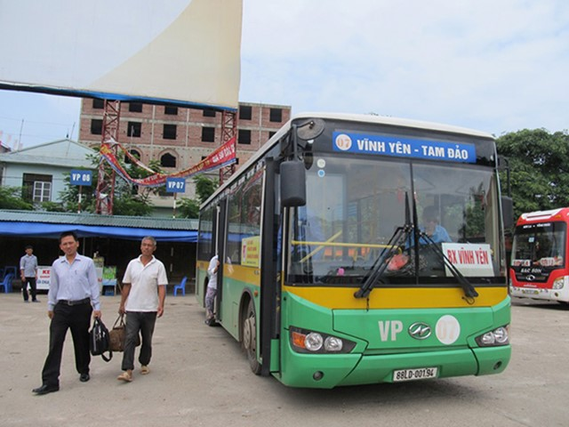 Di chuyển bằng Xe Bus đến Tam Đảo