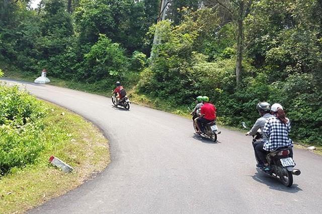 Di chuyển bằng xe máy đến Tam Đảo