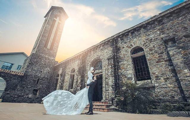 Nhà thờ cổ tam đảo- Nơi chụp ảnh đám cưới