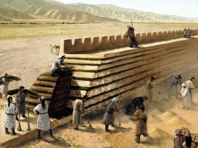 Quá trình xây dựng Vạn Lý Trường Thành