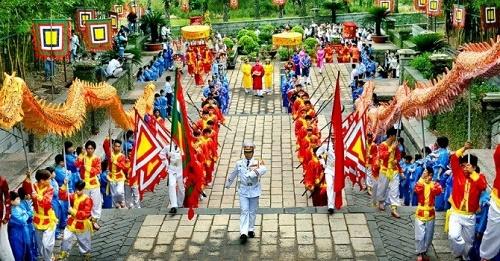 lễ hội truyền thống đền hùng