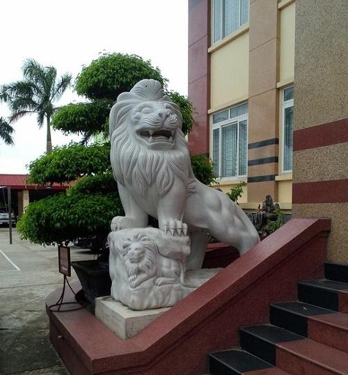 múa sư tử, tượng sư tử