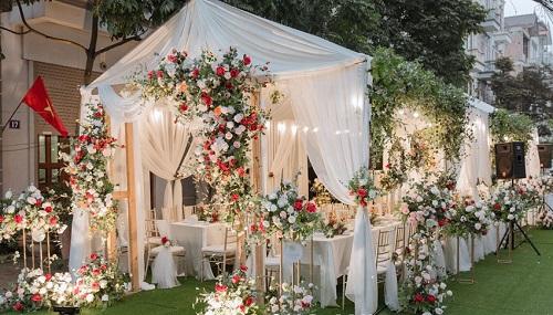 rạp sự kiện đám cưới